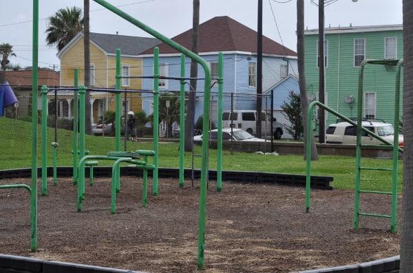 Fitness Center at Menard Park Galveston