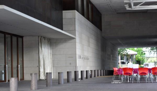 LIttle Art Explorers Outside at Museum of Fine Arts Houston