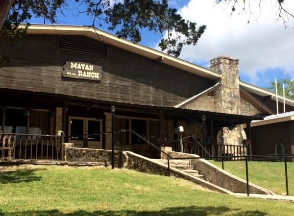 Lodge at Mayan Dude Ranch in Bandera