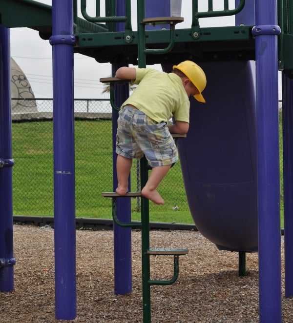Menard Park Galveston Playground Ladder