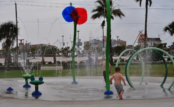 Menard Park Splashpad Galveston