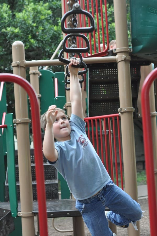 Monkey Bar Rings Grady Park Houston
