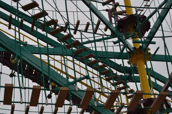 Moody Gardens Ropes Course