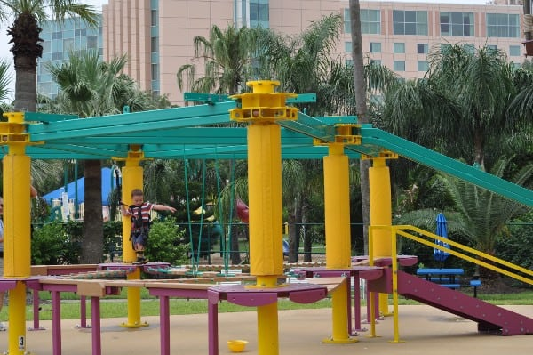 Moody Gardens Tykes Ropes Course