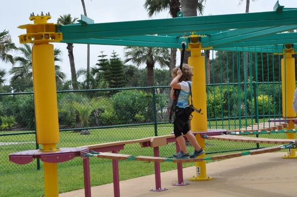 Moody Gardens Tykes Ropes Course1