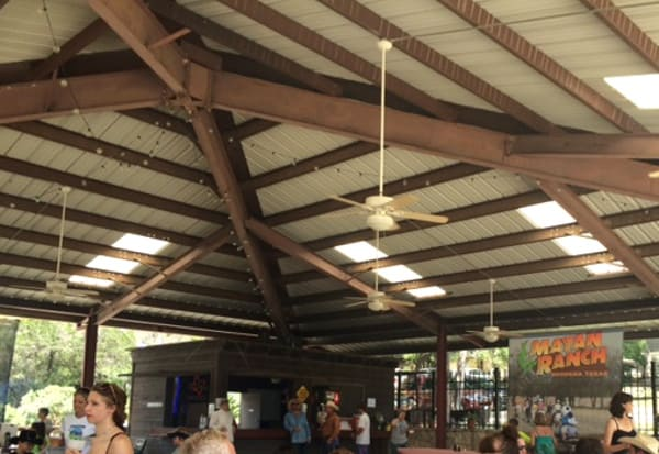Pavillion at Mayan Dude Ranch in Bandera
