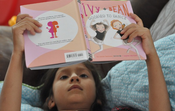 Reading Ivy and Bean