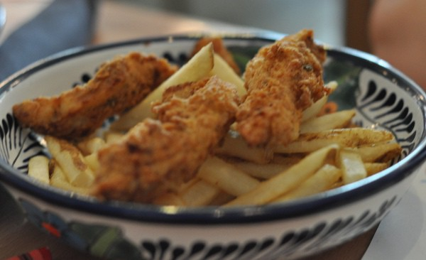 Shrimp and Stuff in Galveston Chicken Kids Meal