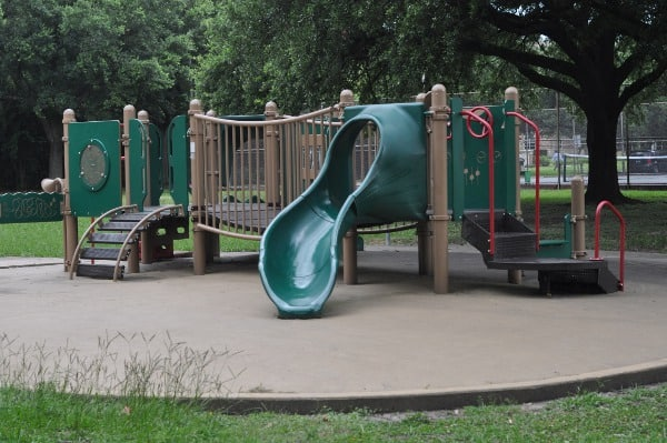 Small Playground at Grady Park Houston
