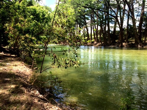 Water at Mayan Dude Ranch in Bandera
