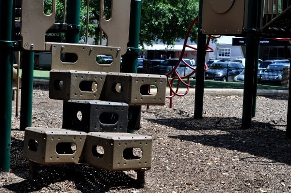 West University Spark Park Playgrounds Steps