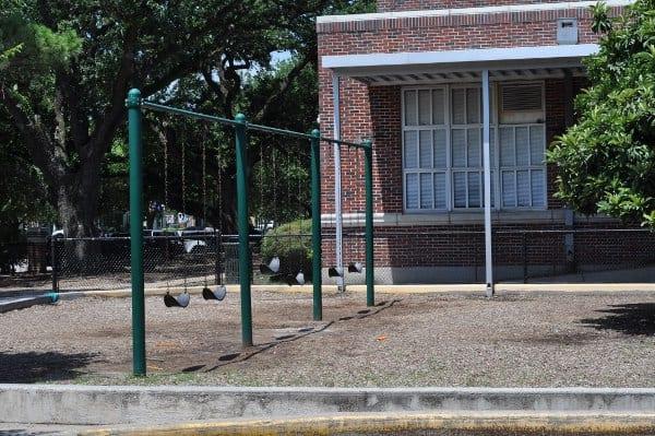 West University Spark Park Swings