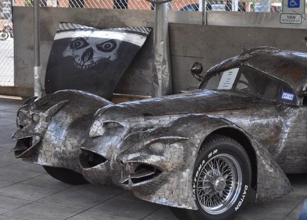 Art Car Museum Houston Silver Car