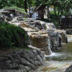 Boomers Houston MiniGolf Water and Bridge
