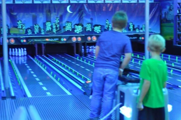 Bowling at Incredible Pizza Conroe