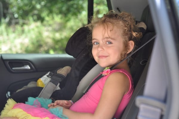 Brooke on Car Trip