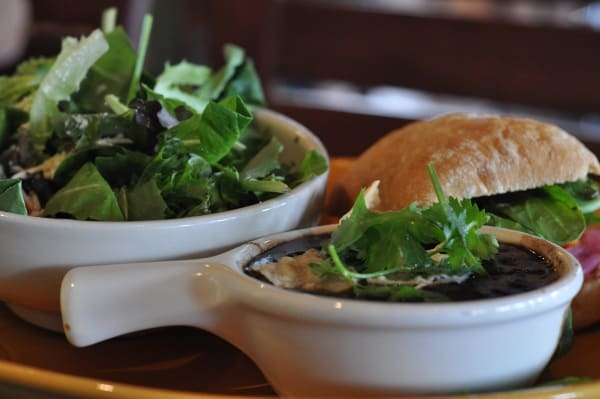 Cafe Express Salad Sandwich and Soup Combo