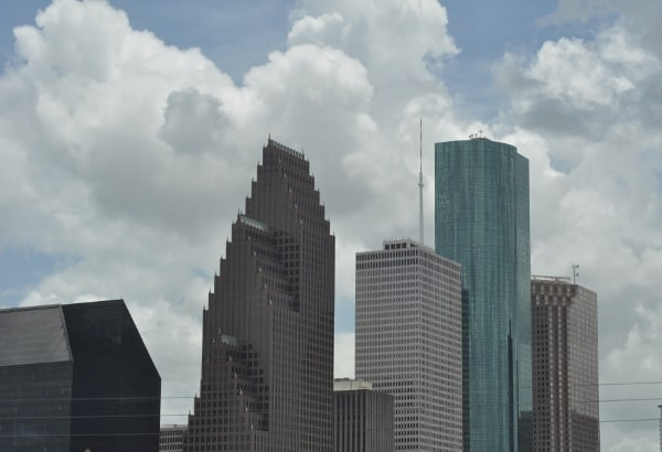 Downtown Houston Skyline BigKidSmallCity