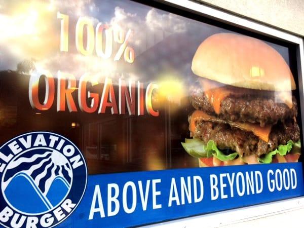 Elevation Burger Sign