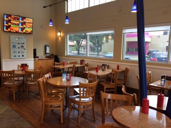Elevation Burger Tables