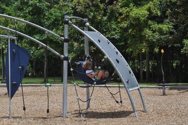 Fall Creek Ballpark Park Hanging Chair