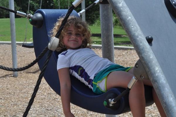 Fall Creek Playground Hanging Chair
