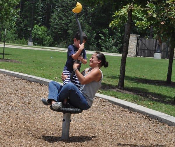 Fall Creek Playground Spinning