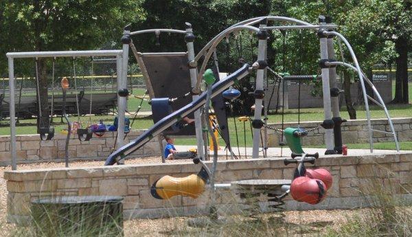 Fall Creek Playground Teeter Totter