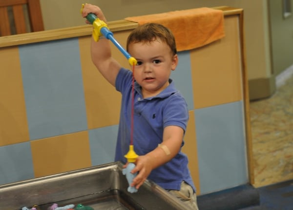 Fishing at The Woodlands Childrens Museum