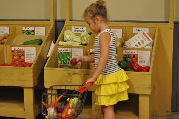 Grocery Store at The Woodlands Childrens Museum