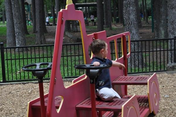 Hedwig Park Toddler Park Firetruck