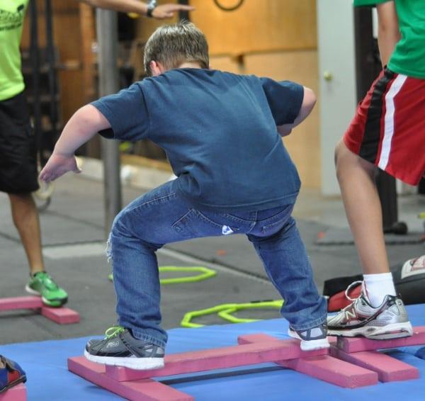 Iron Sports American Ninja Warrior Parkour Class BigKidSmallCity