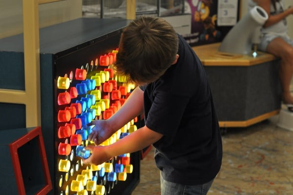 Light Board at The Woodlands Childrens Museum