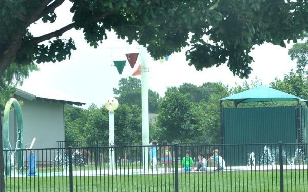 Nottingham Park Splashpad Houston
