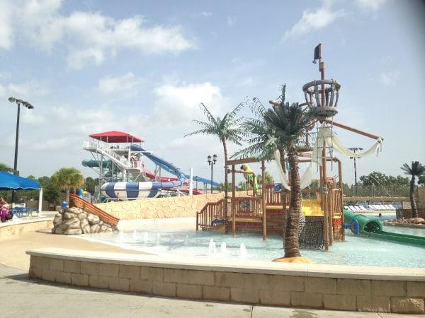 Pirates Bay Water Park in Baytown