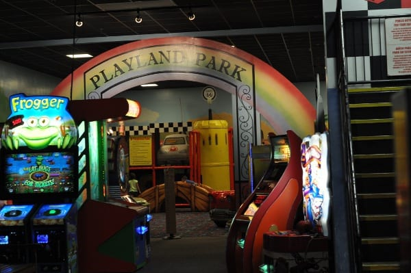 Playland Park at Incredible Pizza Conroe
