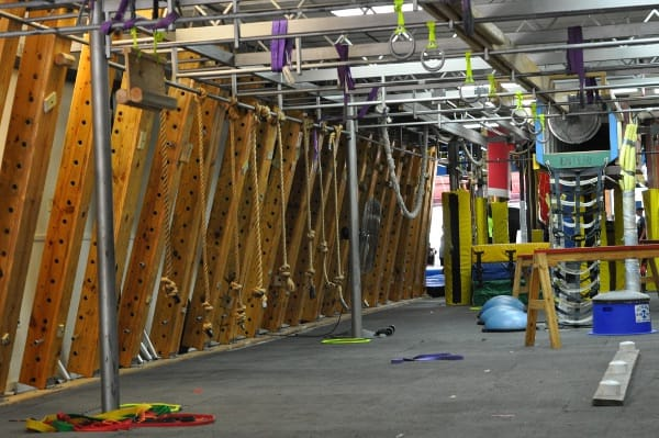 Ropes at Iron Sports America Ninja Warrior Gym BigKidSmallCity