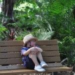 Sitting at Houston Zoo