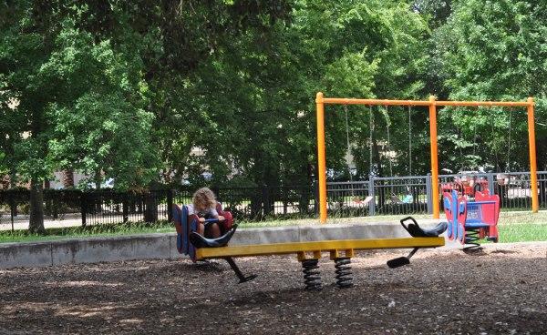 Tanglewood Park Teeter Totter