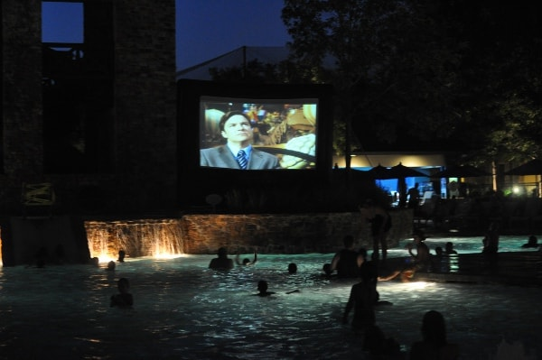 The Woodlands Resort Dive In Movie BigKidSmallCity