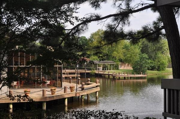 The Woodlands Resort Lake and Decks BigKidSmallCity