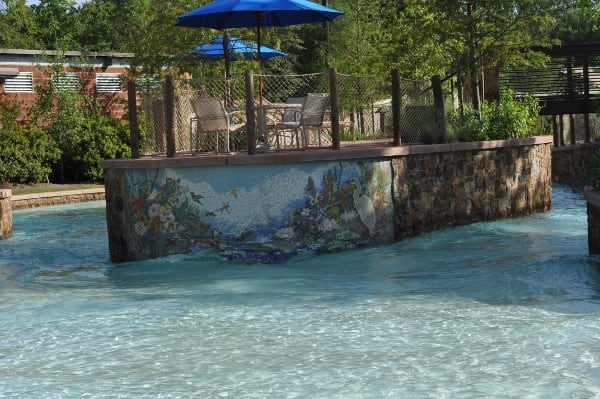 The Woodlands Resort Lazy River Beach Entry Start BigKidSmallCity