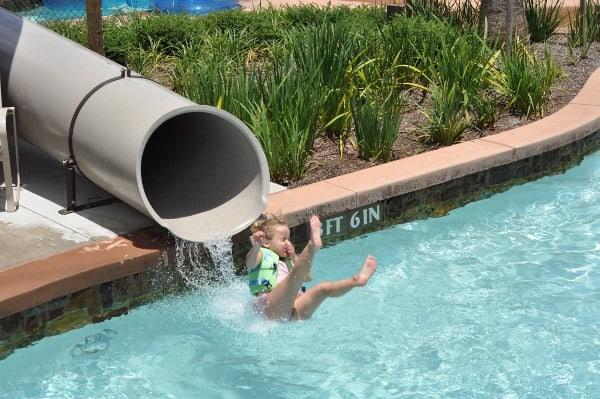 The Woodlands Resort Lazy River Fast Slide BigKidSmallCity