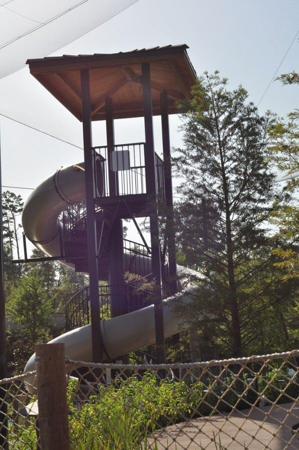 The Woodlands Resort Lazy River Slide BigKidSmallCity