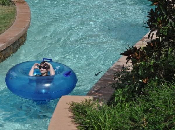 The Woodlands Resort Lazy River Tube BigKidSmallCity
