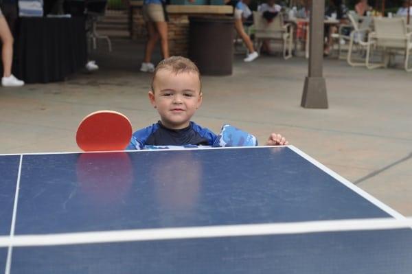 The Woodlands Resort Pool Ping Pong Table BigKidSmallCity