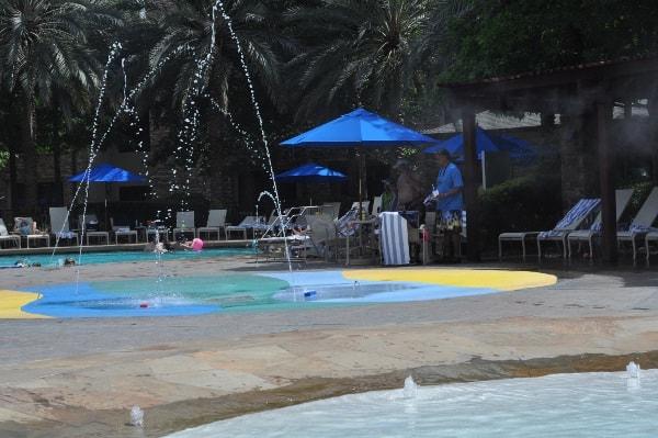 The Woodlands Resort Splashpad and Small Pool BigKidSmallCity