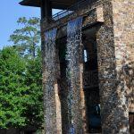 The Woodlands Resort Waterfall at Slides BigKidSmallCity