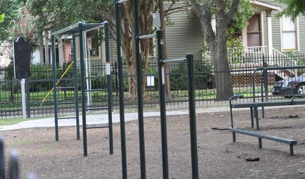 Travis Spark Park Fitness Park