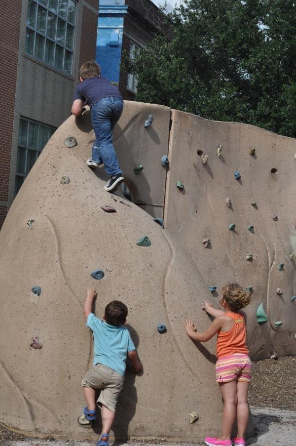 Travis Spark Park Rock Wall